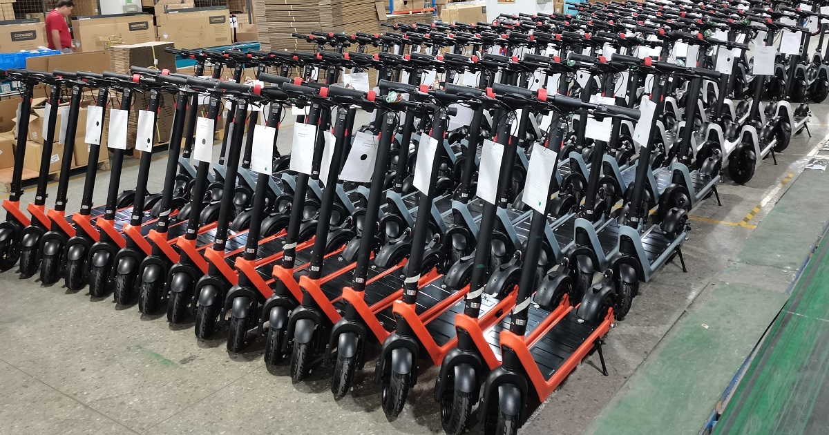 e-scooter-production-line